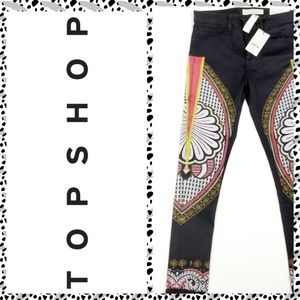 Top Shop MANDALA Moto Leigh Super Soft Jeans